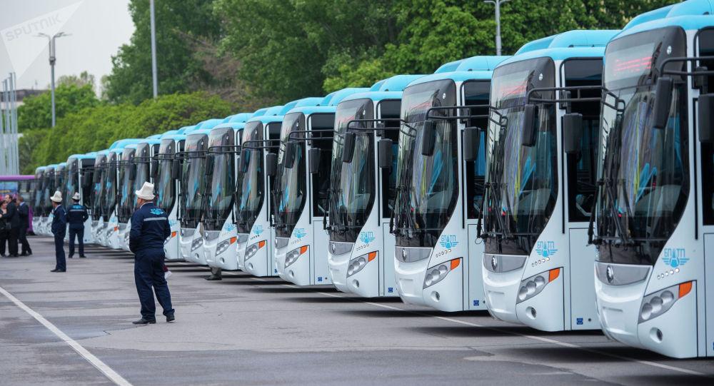 Бишкектеги коомдук транспорт эми дем алыш жана майрам күндөрү да иштейт.