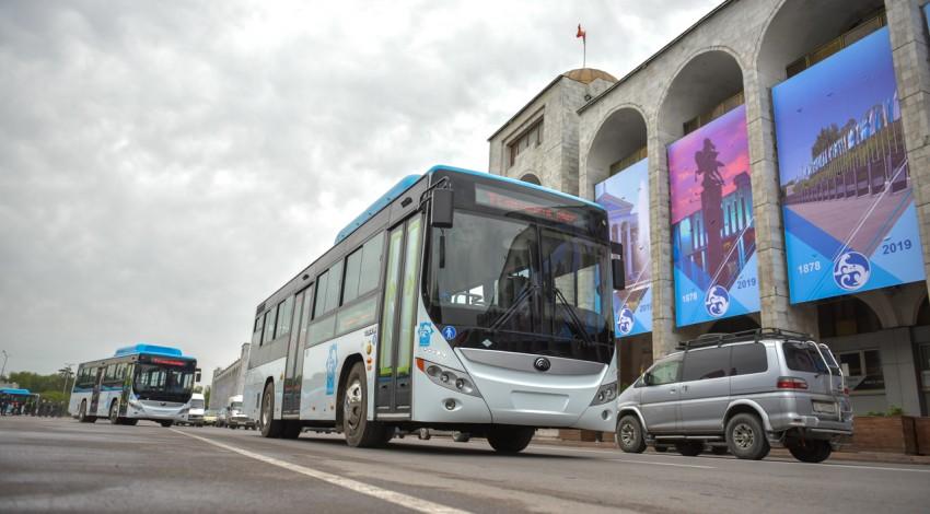 Муниципальный общественный транспорт работает в усиленном режиме